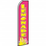 Lemonade Pink Swooper Flag