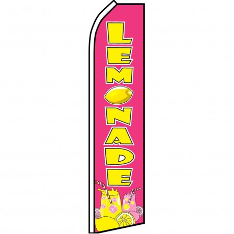 Lemonade Pink Swooper Flag