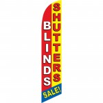 Blinds Shutters Sale Windless Swooper Flag