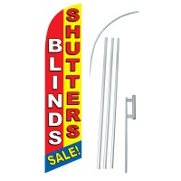 Blinds/Shutters Windless Swooper Flag Bundle