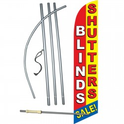 Blinds Shutters Windless Swooper Flag Bundle