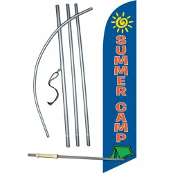 Summer Camp Windless Swooper Flag Bundle
