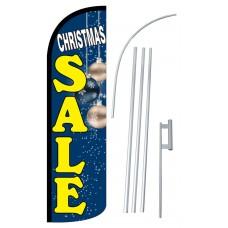 Christmas Sale Extra Wide Windless Swooper Flag Bundle
