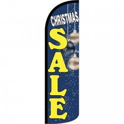 Christmas Sale Extra Wide Windless Swooper Flag Bundle