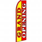 Grand Opening Extra Wide Swooper Flag