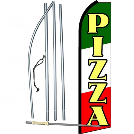 Pizza Swooper Flag Bundle