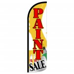 Paint Sale Extra Wide Windless Swooper Flag