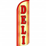 Deli Extra Wide Windless Swooper Flag