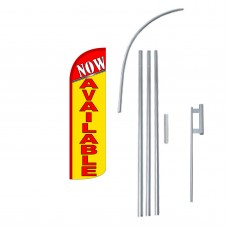 Now Available Extra Wide Windless Swooper Flag Bundle