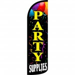 Party Supplies Extra Wide Windless Swooper Flag