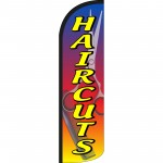 Hair Cuts Extra Wide Windless Swooper Flag