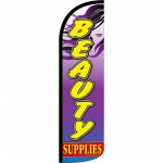 Beauty Supplies Extra Wide Windless Swooper Flag
