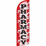 Pharmacy Extra Wide Windless Swooper Flag