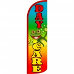 Day Care Rainbow Extra Wide Windless Swooper Flag