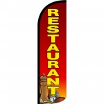 Restaurant Condiments Extra Wide Windless Swooper Flag