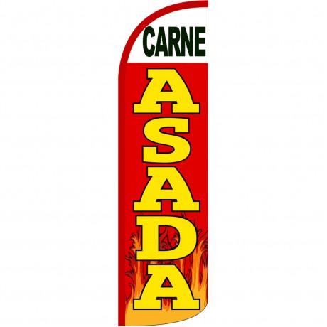 Carne Asada Extra Wide Windless Swooper Flag