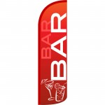 Bar Extra Wide Windless Swooper Flag