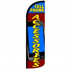Cell Phone Accessories Extra Wide Windless Swooper Flag