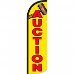 Auction Extra Wide Windless Swooper Flag
