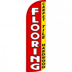 Flooring Extra Wide Windless Swooper Flag