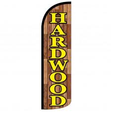 Hardwood Extra Wide Windless Swooper Flag