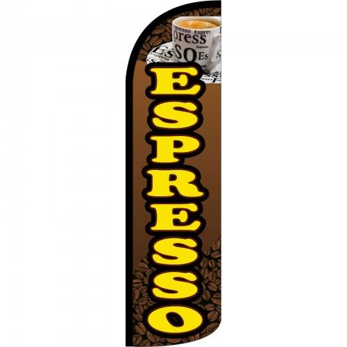Espresso Swooper Flag