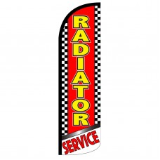 Radiator Service Extra Wide Windless Swooper Flag
