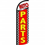 Auto Parts Extra Wide Windless Swooper Flag