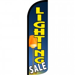 Lighting Sale Extra Wide Windless Swooper Flag
