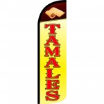 Tamales Extra Wide Windless Swooper Flag