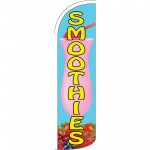 Smoothies Blue Extra Wide Windless Swooper Flag