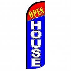 Open House Extra Wide Windless Swooper Flag
