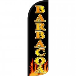 Barbacoa Extra Wide Windless Swooper Flag