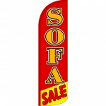 Sofa Sale Extra Wide Windless Swooper Flag