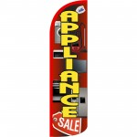 Appliance Sale Extra Wide Windless Swooper Flag