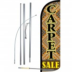 Carpet Sale Extra Wide Windless Swooper Flag Bundle