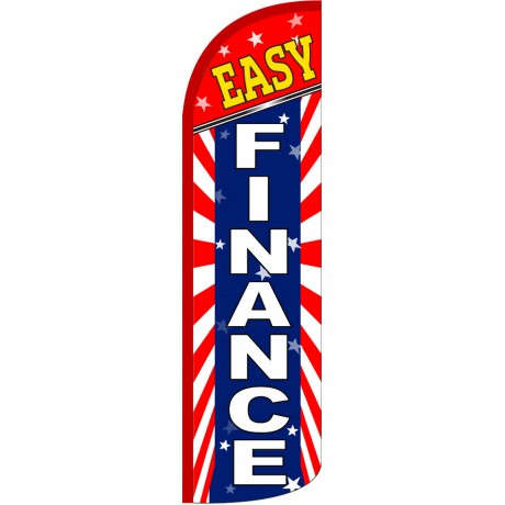 Easy Finance Extra Wide Windless Swooper Flag