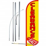 Clearance Sale Extra Wide Windless Swooper Flag Bundle