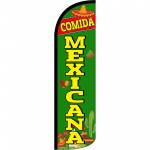 Comida Mexicana Extra Wide Windless Swooper Flag