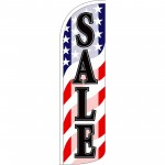 Sale USA Extra Wide Windless Swooper Flag
