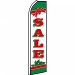 Sale Holiday Bow Swooper Flag