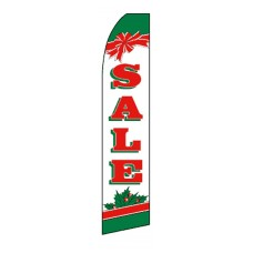 Holiday Sale Swooper Flag