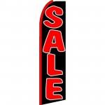 Sale Black Red Swooper Flag