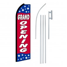 Grand Opening Stars Swooper Flag Bundle