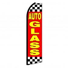 Auto Glass Swooper Flag