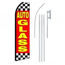 Auto Glass Swooper Flag Bundle