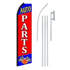 Auto Parts Swooper Flag Bundle
