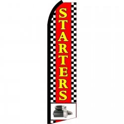 Starters Swooper Flag