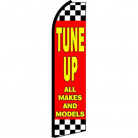 Tune Up All Makes And Models Swooper Flag
