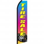 Tire Sale Swooper Flag